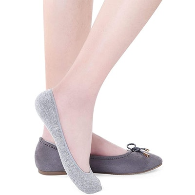 Toes Home Ultra Low Cut Liner Socks (5 Pairs)