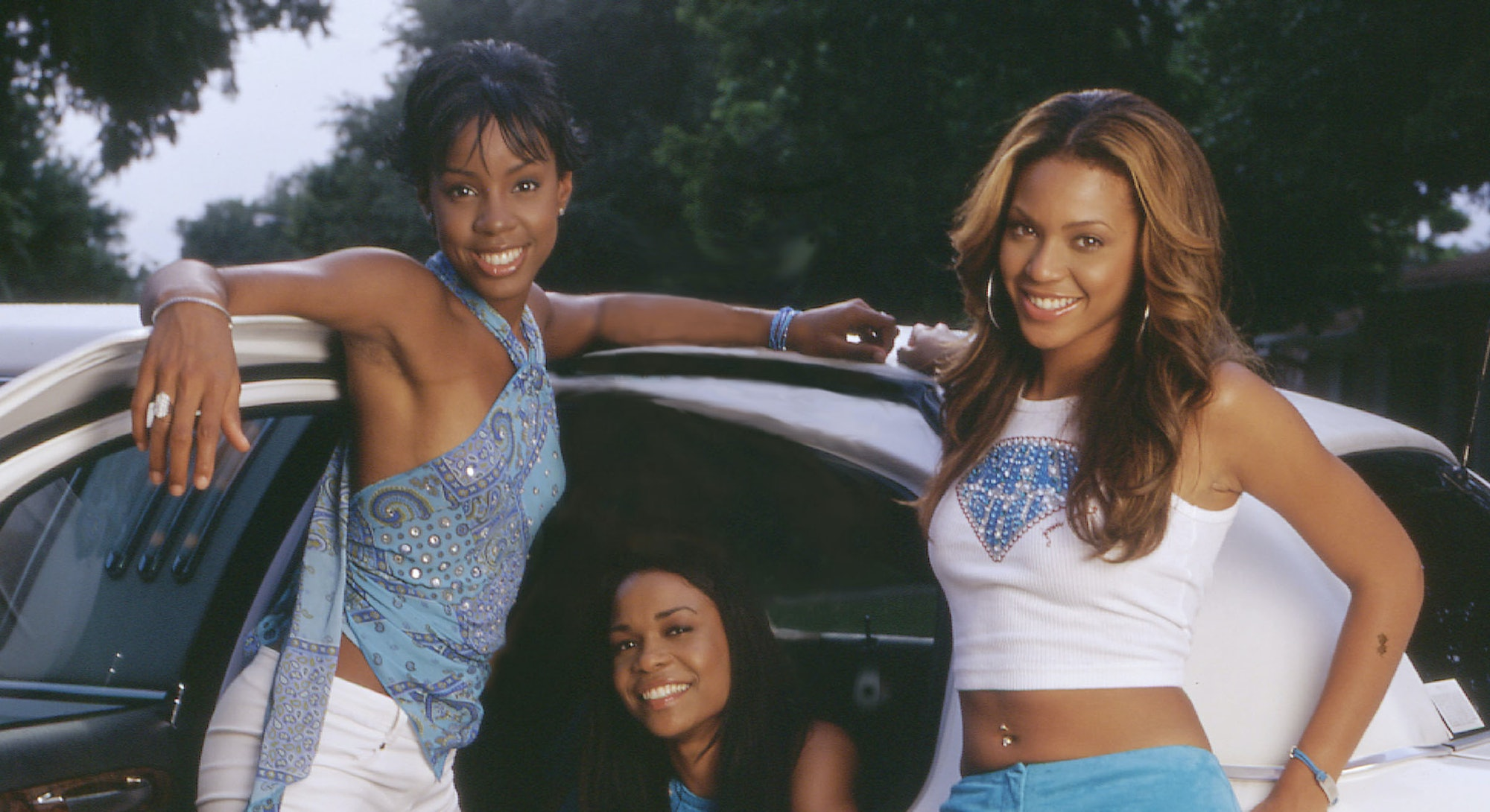 Destiny's Child in denim.