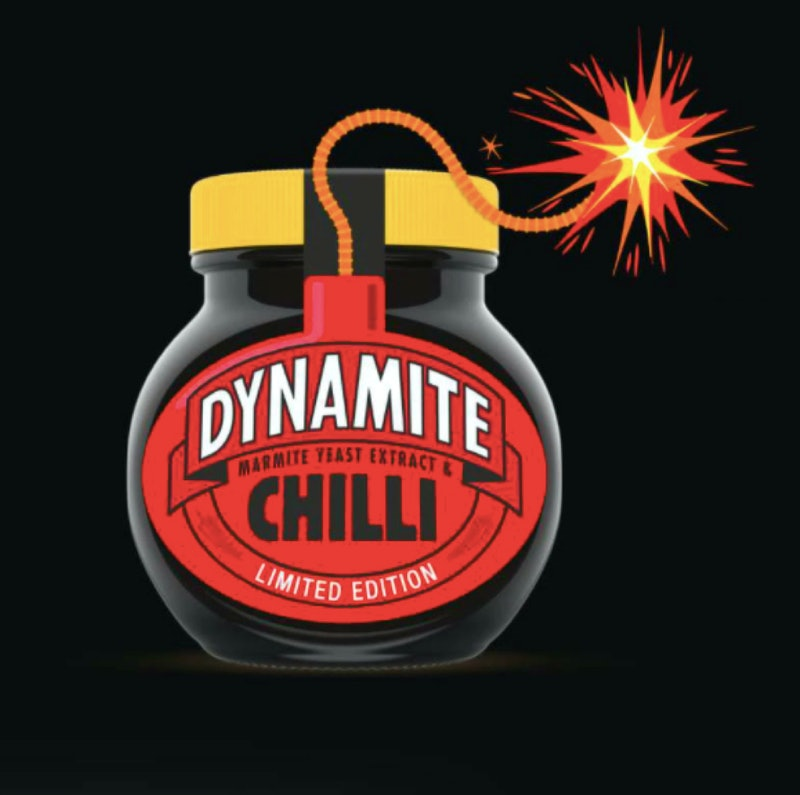 Chilli Marmite or Marmite Dynamite is on sale in Sainsbury's