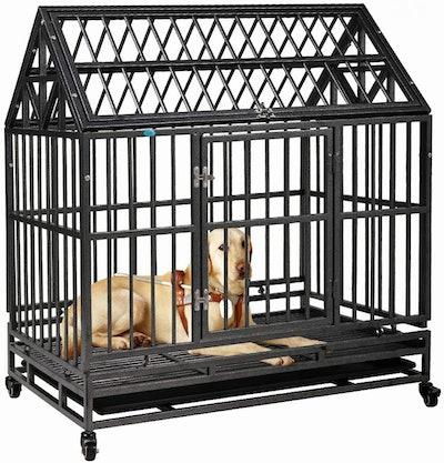 COZIWOW Heavy-Duty Dog Crate