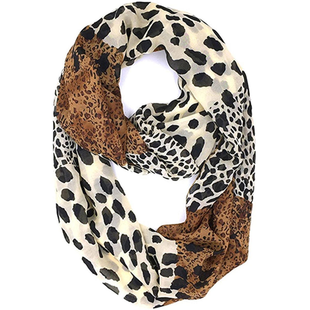 Tapp Collections Sheer Infinity Scarf