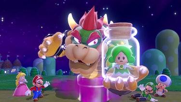Super Mario 3D World premise