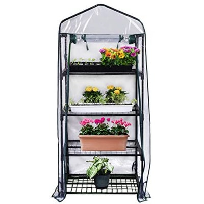 Gardman 4-Tier Mini Greenhouse