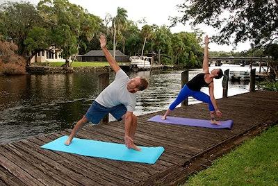 Clever Yoga Mat Non Slip
