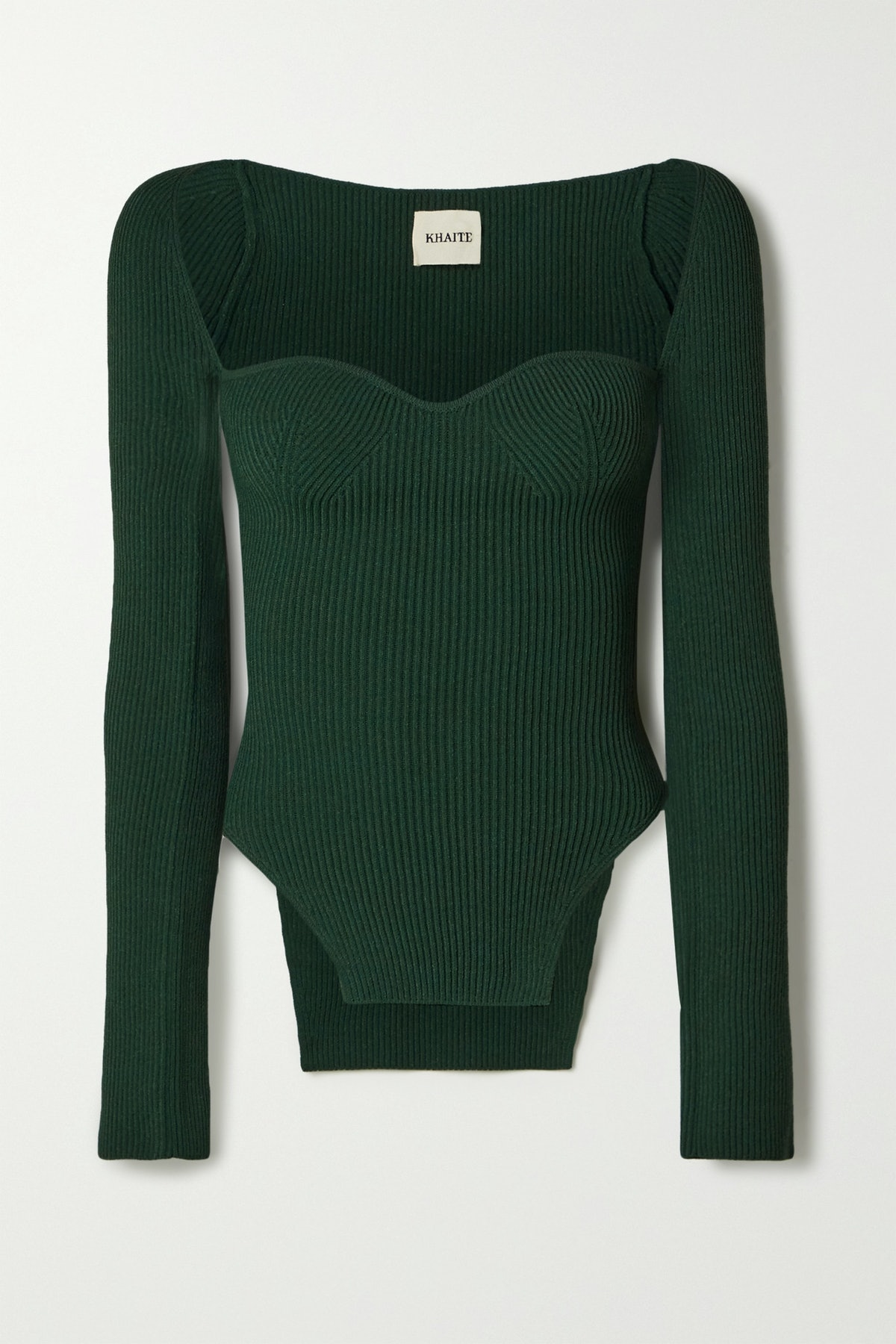 Maddy Ribbed-Knit Sweater