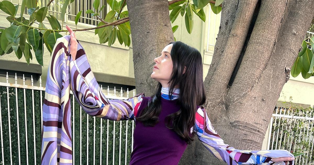 Rachel Brosnahan Trades Hot Mics for Smoking Guns