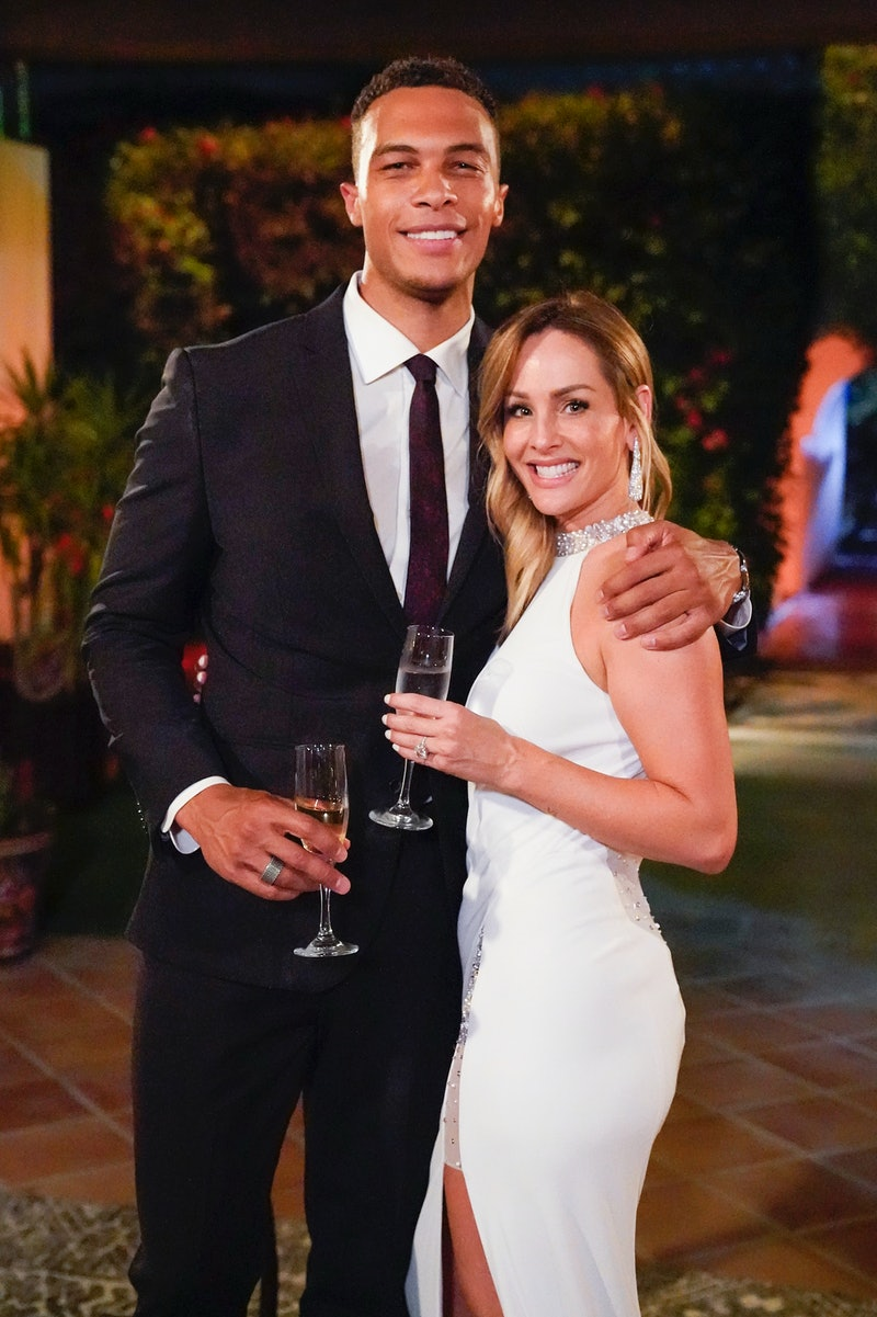 Dale Moss and Clare Crawley on episode 4 of 'The Bachelorette.' Photo via ABC