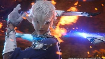 final fantasy xiv endwalker character fire sword