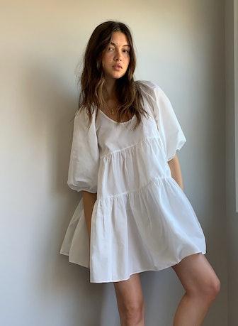 Fantasy Taffeta Babydoll Dress