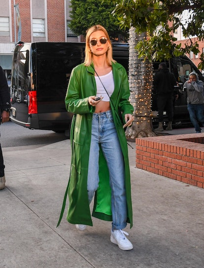 Hailey Bieber is seen on February 18, 2020 in Los Angeles, California.