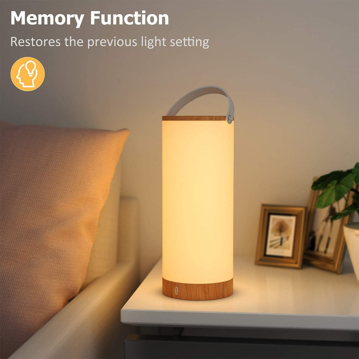 TaoTronics Rechargeable Table Lamp