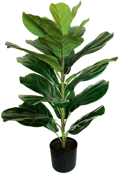 BESAMENATURE Artificial Fiddle Leaf Fig Tree