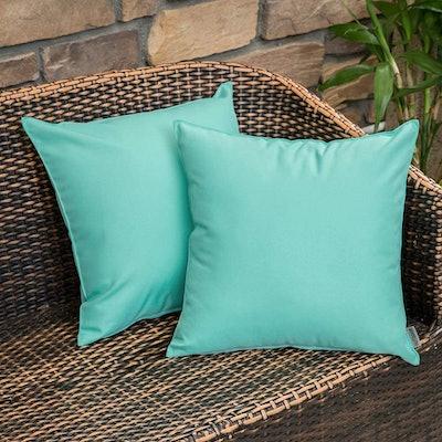 MIULEE Outdoor Pillow Shams (Set of 2)