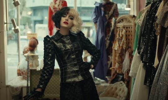 Emma Stone stars in the new Disney film, 'Cruella'.