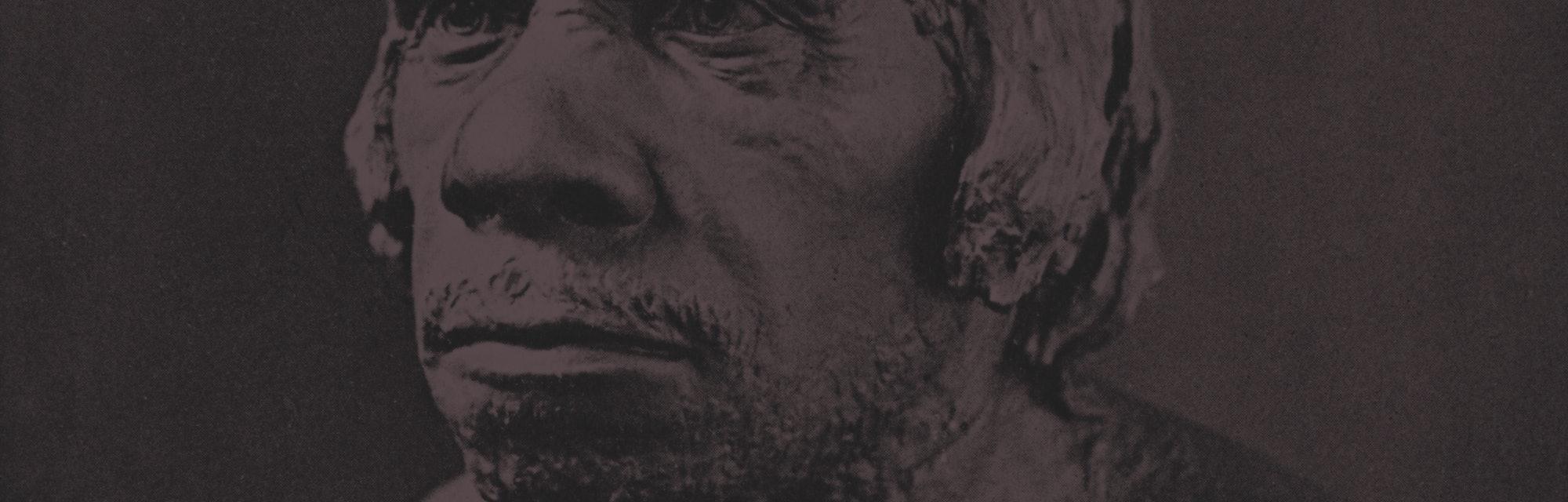 Neanderthal bust