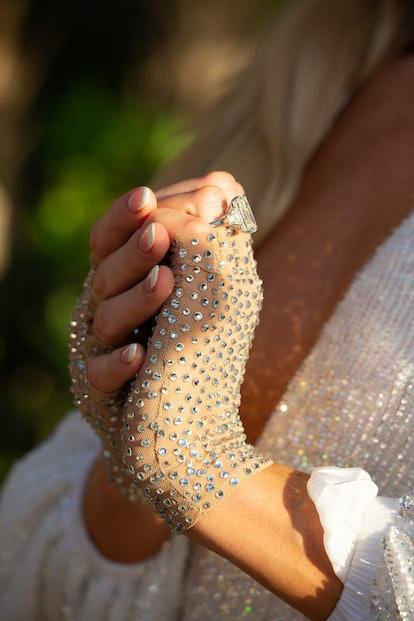 Paris Hilton's Engagement Ring Features A Popular 2021 Trend