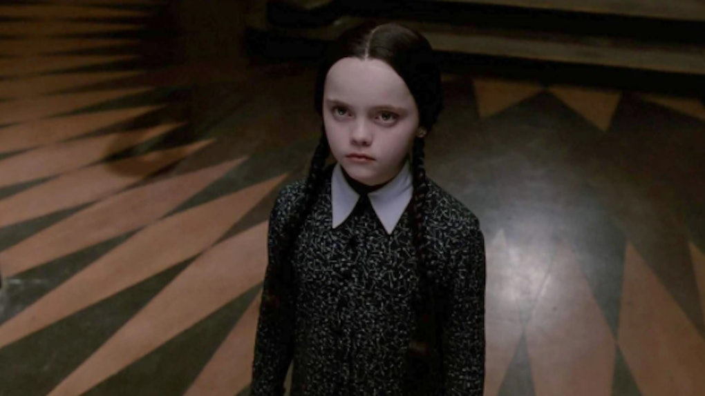 """Christina Ricci in the 1991 film """"The Addams Family.""""Credit..."""