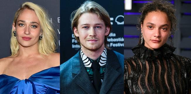 Jemima Kirke, Joe Alwyn, Sasha Lane & Alison Oliver will star in Hulu's adaptation of the Sally Rooney novel, 'Conversations With Friends.'