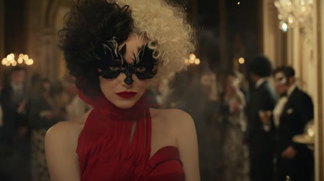Emma Stone stars as Cruella de Vil in the first trailer for Disney's 'Cruella.'