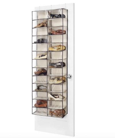 Over-the-Door Shoe Rack Shelves