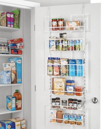 Over-The-Door Rack Organizer with Adjustable Shelves
