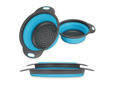 LEARJA Collapsible Colander (2-Pack)