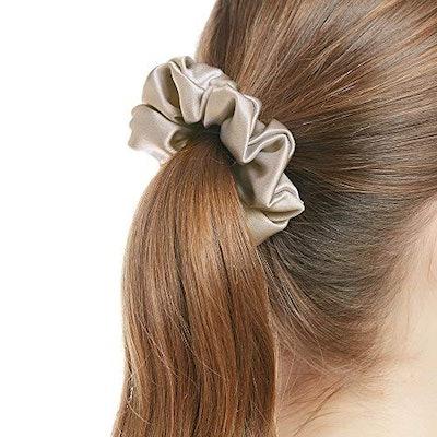 LilySilk 100% Silk Charmeuse Scrunchy