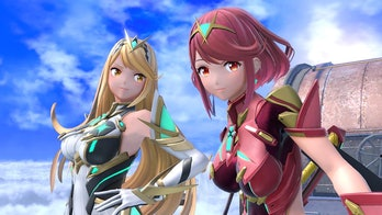 Pyra and Myrthra from 'Xenoblade Chronicles'