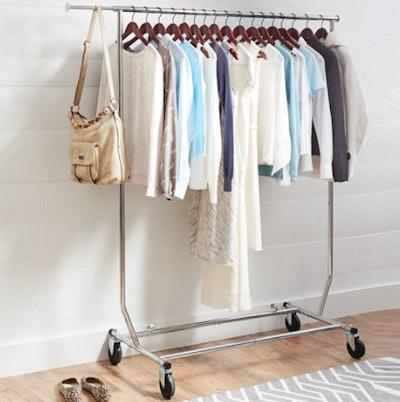 Folding Adjustable Garment Rack