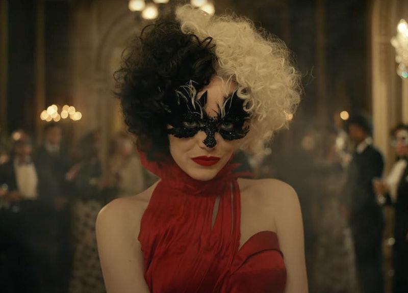 Emma Stone as 'Cruella.' Photo by Disney