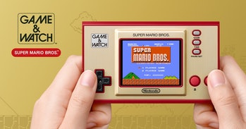 Super mario bros nintendo game and watch special edition