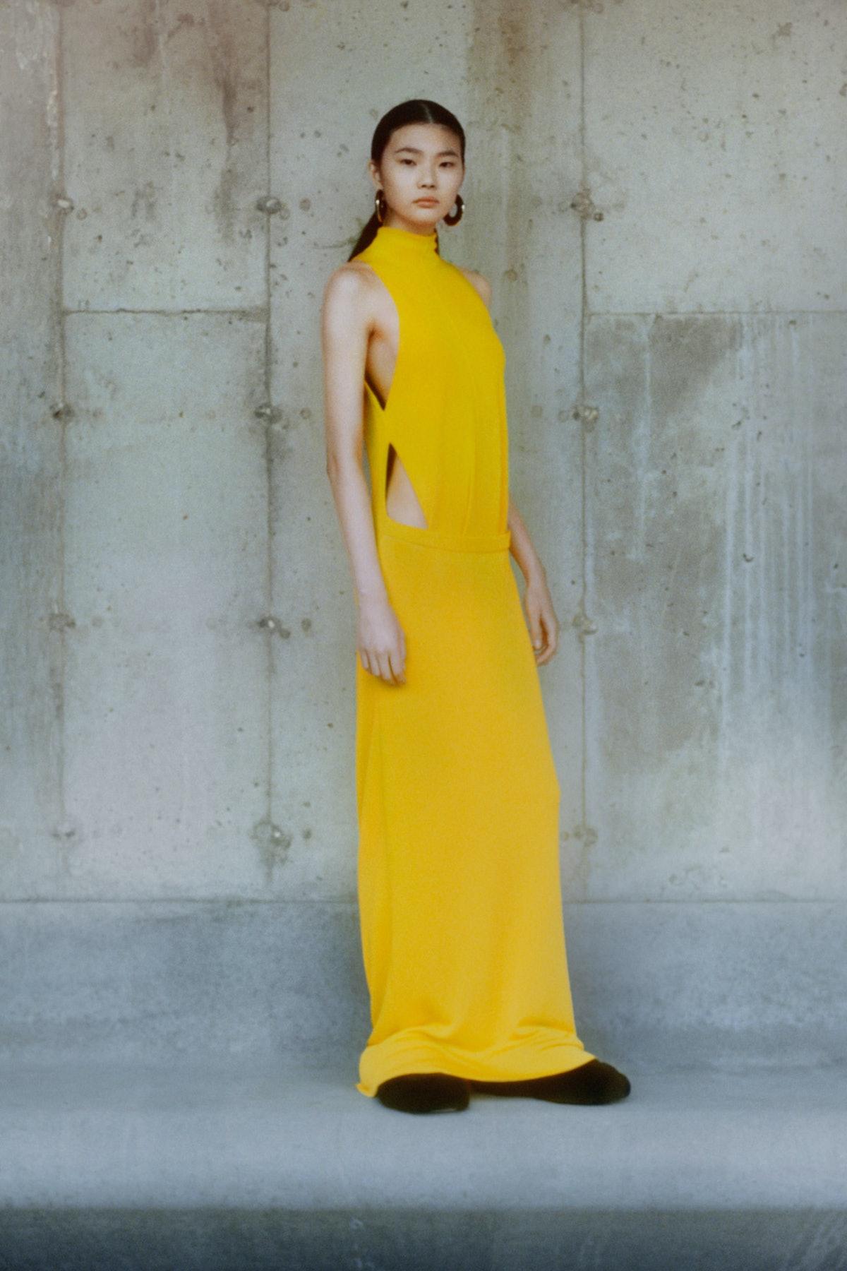 A model at Proenza Schouler.