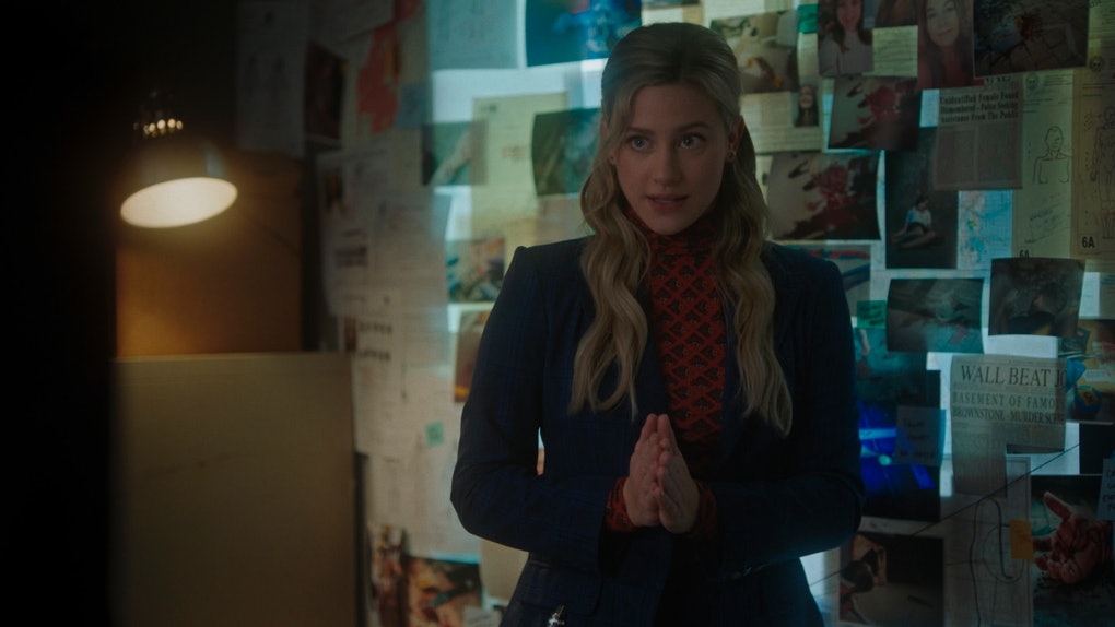 Lili Reinhart as Betty Cooper in The CW's 'Riverdale'