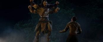 Mortal Kombat movie Goro