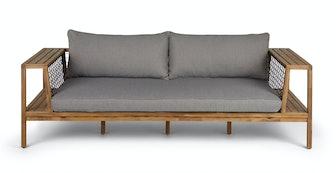Callais Taupe Gray Sofa