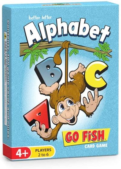 Better Letter Alphabet Go Fish Card Game