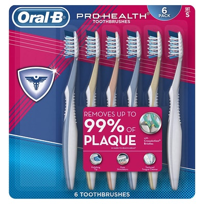 Oral-B Pro Health Soft Toothbrush (6-Pack)