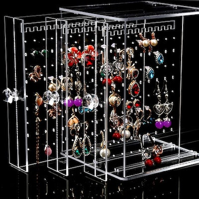 Orgrimmar Acrylic Vertical Drawer Jewelry Organizer