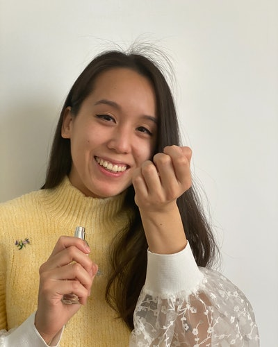 Marina Liao photo for The Beauty Report Card series.