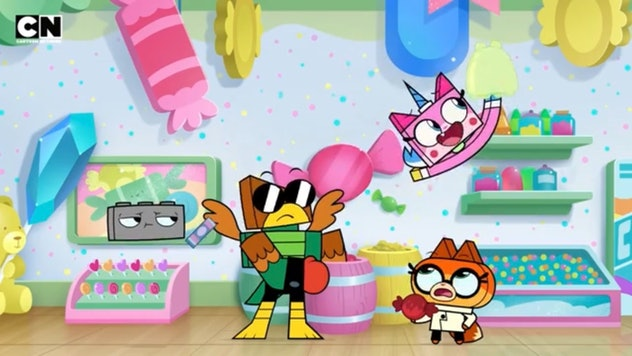 'Unikitty!' is a cartoon about the character from the Lego Movie