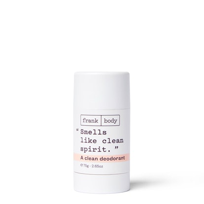 frank body unscented clean deodorant