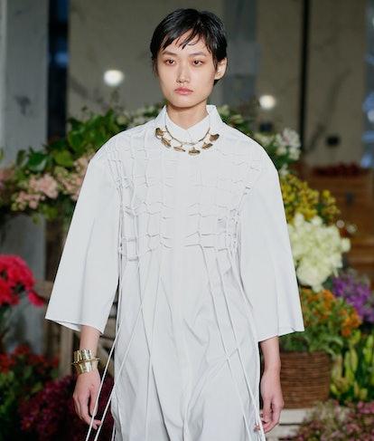 Model at Jason Wu.