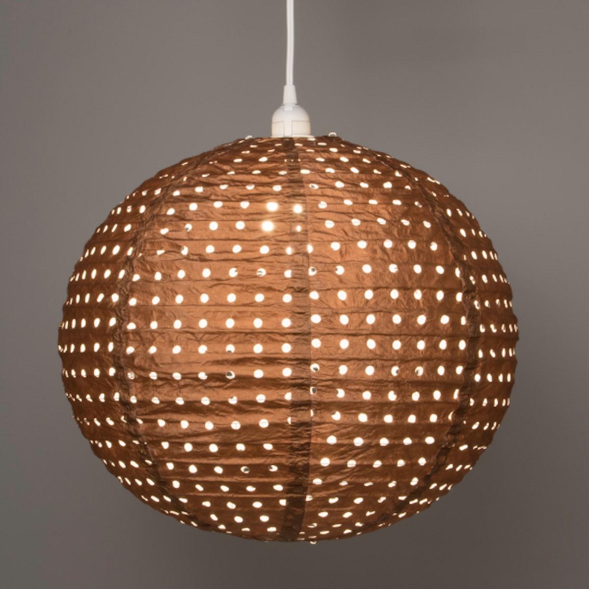 Soji Stella Nova Swiss Dot Copper Indoor/Outdoor Pendant Lamp