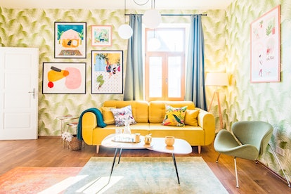 eclectic apartment artistic airbnb