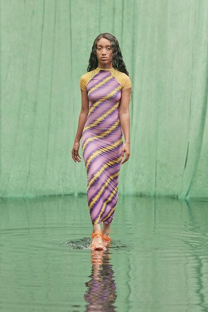 Model at Maisie Wilen.