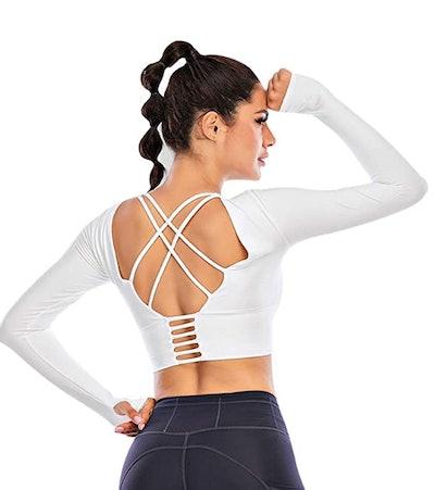 Ecupper Long-Sleeve Fitness Shirt