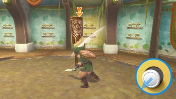 Skyward Sword motion and right stick controls
