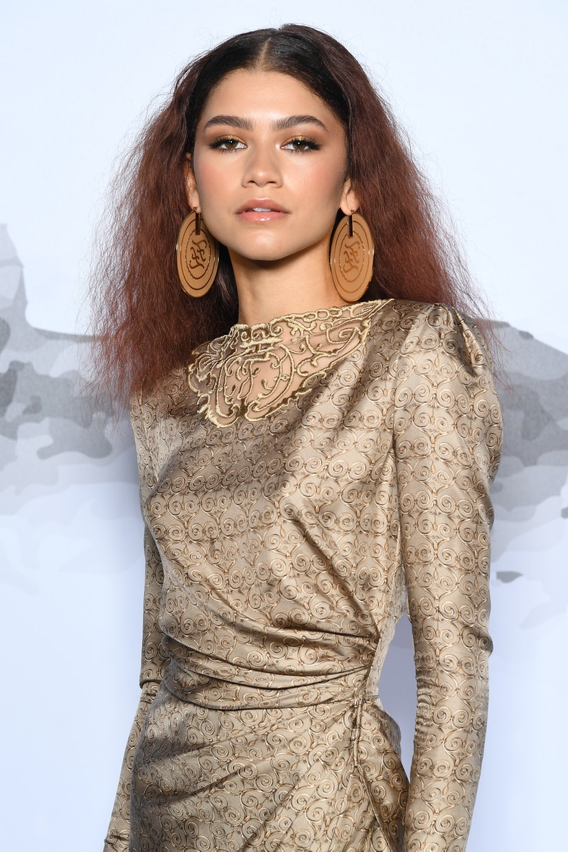 Zendaya attends the Cocktail at Fendi Couture Fall Winter 2019/2020 on July 4, 2019 in Rome, Italy.