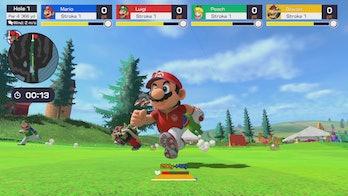 mario golf super rush speed golf mode nintendo switch