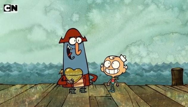 'The Marvelous Misadventures of Flapjack' is an offbeat cartoon.